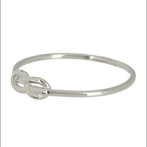 ADORNIA Sterling Silver Knot Band Ring